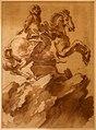 Gianlorenzo bernini, studio per il monumento equestre di luigi xiv, 1672-73 (bassano del grappa, museo civico).jpg