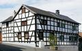 Gielsdorf Fachwerkhäuser Kirchgasse 86 (links) und Prinzgasse 1 (rechts) (01).png