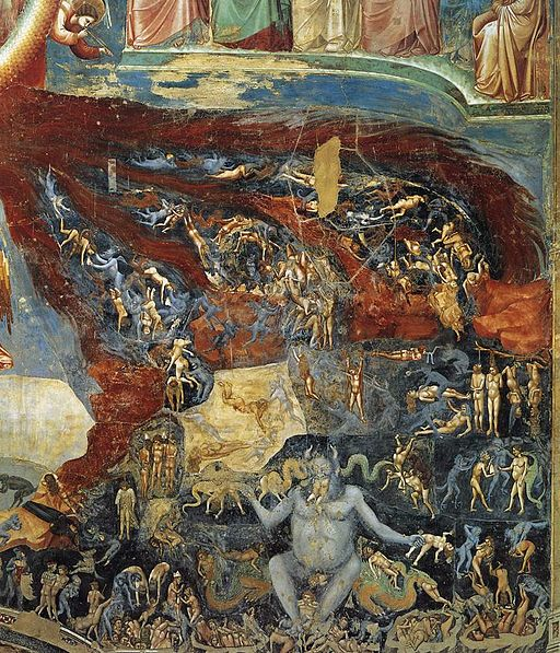Giotto di Bondone - Last Judgment (detail) - WGA09239