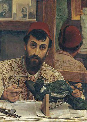 Giovanni Battista Amendola - Giovanni Battista Amendola (by Lawrence Alma-Tadema)
