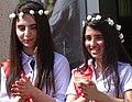 Girls at End-of-Year Ceremony at Prep School - Sheki - Azerbaijan (18077937920).jpg