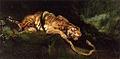 Giulio Aristide Sartorio - A Tiger Struggling with a Snake.jpg