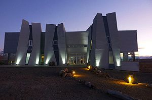 Glaciarium (museum) - View from the access to the Museum