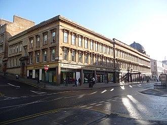 McLellan Galleries - The McLellan Galleries building