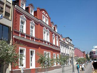 Bosanska Krajina - Image: Glavna ulica Main street