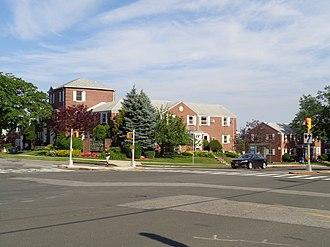Glen Oaks, Queens - The Glen Oaks Village development, at Little Neck Parkway and 260th Street.