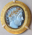 Glittica romana, commodo, sardonice, II sec dc..JPG