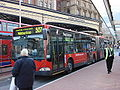 Go Ahead London articulated bus Mercedes Benz Citaro G Red Arrow Route 507 in Victoria Bus Station, London 2 April 2007.jpg