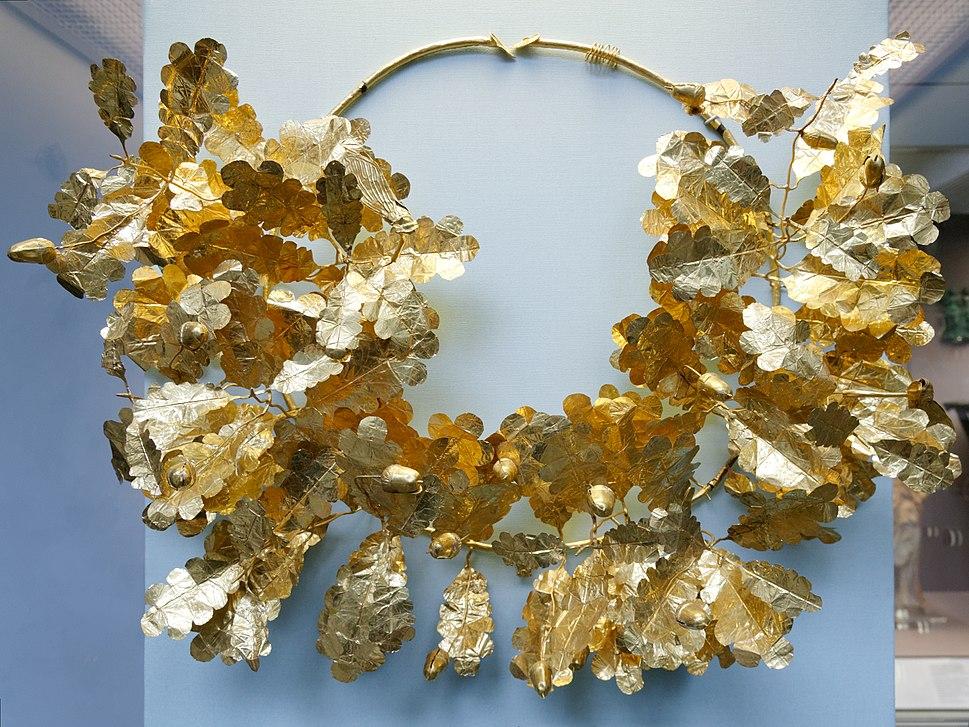 Gold wreath BM 1908.4-14.1