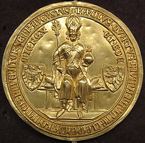 Golden Bull of 1356 - The golden seal that earned the decree the name