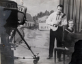 Gordon Hamrick, hosting the Old Country Church TV Program circa 1964.png