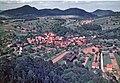 Gossersweiler-Stein Ortsteil Stein 1962 Perspektive vom Krimhildenstein.jpg