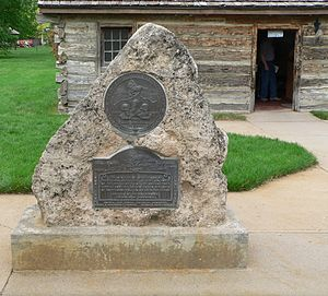 Gothenburg Pony Express Station monument