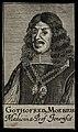 Gottfried Moebius. Line engraving, 1688. Wellcome V0004047.jpg