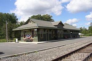 Lehigh Township, Wayne County, Pennsylvania - Gouldsboro train station