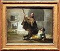 Goya, storie di fra pedro e il maragato 05 fra pedro colpisce el maragato col calcio del fucile, 1806 ca.jpg