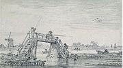 Goyen 1651 Voetbrug met hengelaars.jpg