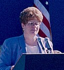 Grace Crunican at Westside MAX opening - Hillsboro, Oregon 1998.jpg