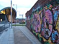 Graffiti Wall and The Sage (geograph 1912515).jpg
