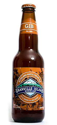 Granville Island Brewing - Kitsilano Maple Cream Ale.JPG