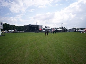Graspop Metal Meeting - The field of graspop just before the 2008 festival