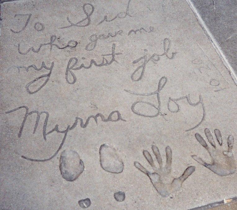 Grauman's Myrna Loy