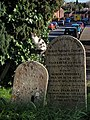 Gravestones and cat, Heavitree - geograph.org.uk - 1065212.jpg