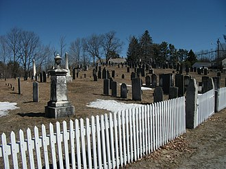 Greenfield, New Hampshire - Image: Graveyard in Greenfield, New Hampshire