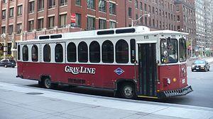 Penetang-Midland Coach Lines - Image: Gray Line Toronto 111