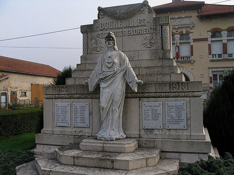 Great War Monument Bourelles France