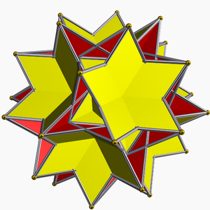 Great dodecahemidodecahedron - Image: Great icosihemidodecahedro n