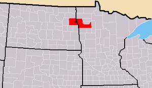 Greater Grand Forks - Image: Greater Grand Forksareamap