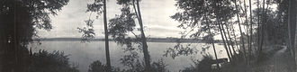 Green Lake (Seattle) - Green Lake in January 1907
