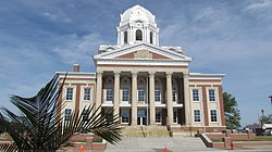 The courthouse in Greenville, KY
