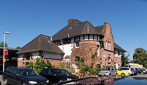 Odenwald Railway (Hesse) - Groß-Umstadt Wiebelsbach station, node of the Odenwald Railway