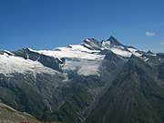 The Großglockner, south of Salzburg, Austria