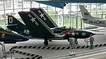 Grumman F9F-8 Cougar, Seattle Museum Of Flight, Washington.jpg