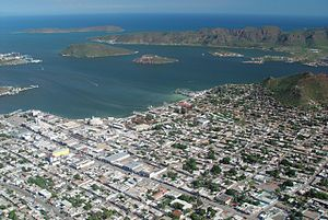 Guaymas - Aerial view of Guaymas