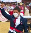 Гвидо Беллидо.  Президент Педро Кастильо jura de manera simbólica en histórica Pampa de Ayacucho 14-9 скриншот (обрезанный) .png
