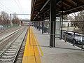 Guilford station track 1 platform extension, December 2015.JPG