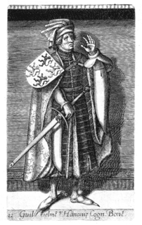 William I, Count of Hainaut Count of Holland, Zeeland and Hainaut