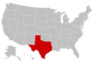 Gulf Coast Conference - Image: Gulf Coast Conference USA states