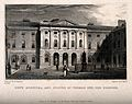 Guy's Hospital, Southwark; inside the courtyard. Engraving b Wellcome V0013703.jpg