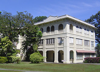 Silliman University - Guy Hall, built in 1918, was one of the buildings occupied by Japanese troops during World War II