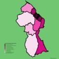 Guyana regions by population density.png