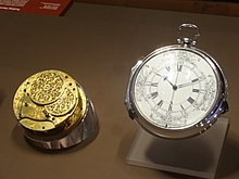 photograph of the H4 chronometer