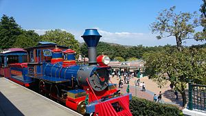 Hong Kong Disneyland Railroad - 1: Walter E. Disney. Named after Walt Disney, President from 1923 to 1966