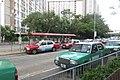HK 上水 Sheung Shui 彩園路 Choi Yuen Road Estate green taxi stop Sept 2017 IX1 03.jpg