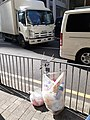 HK 上環 Sheung Wan 皇后大道中 Queen's Road Central rubbish bins changed after the war plastic bags Saturday morning December 2019 SS2 25.jpg