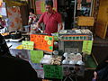 HK 長洲 Cheung Chau San Hing Praya Road Tai Hing Tai Road Dec-2013 ZR2 snack food seller.JPG